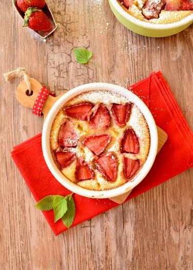 clafoutis-fraise-amande