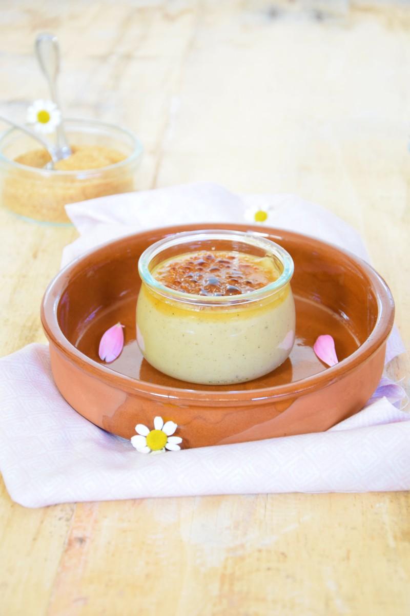 Crème brûlée à la vanille {Sans gluten-Sans lactose}