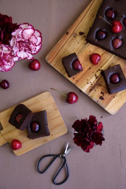 brownie-cerise-sansgluten-sanslactose