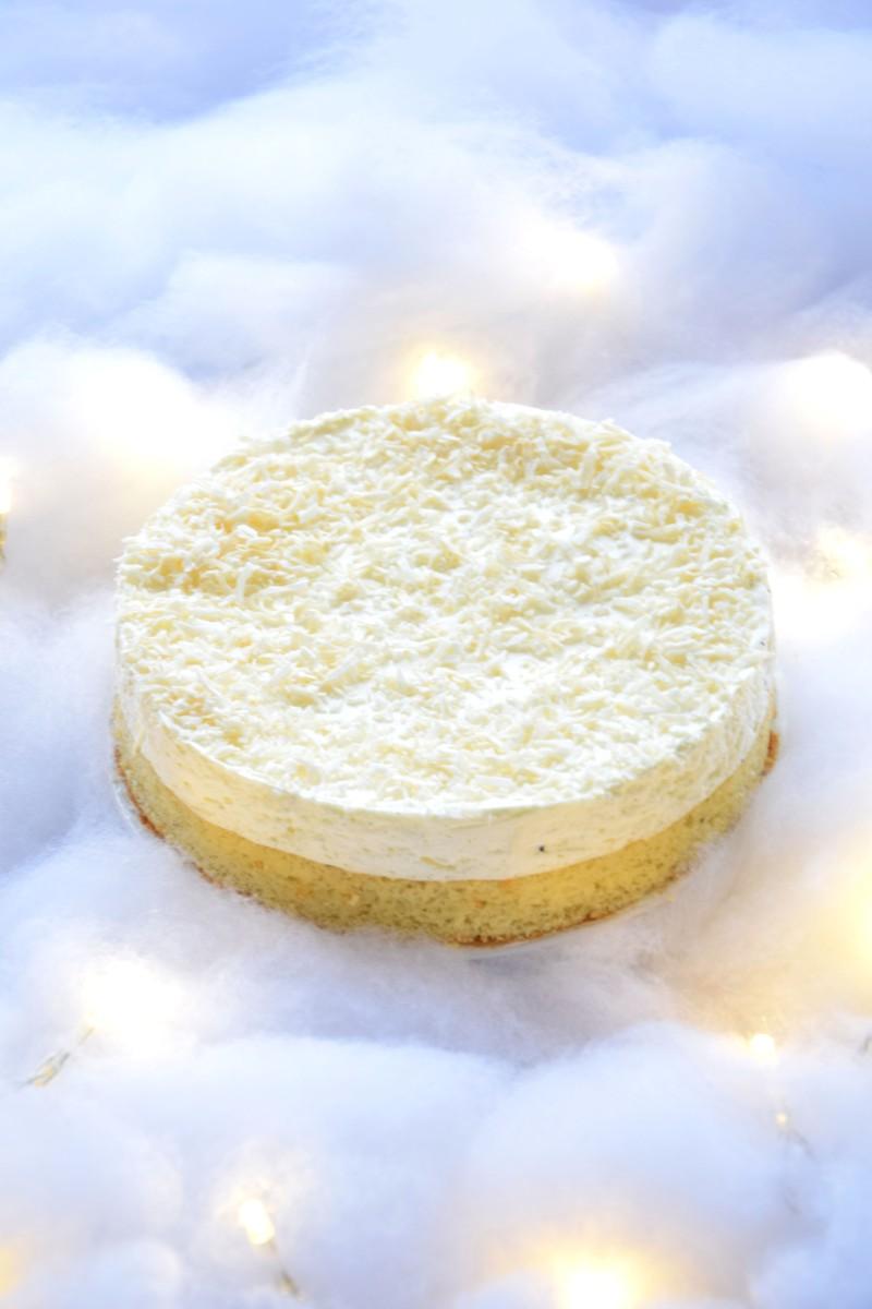 Gâteau nuage de vanille