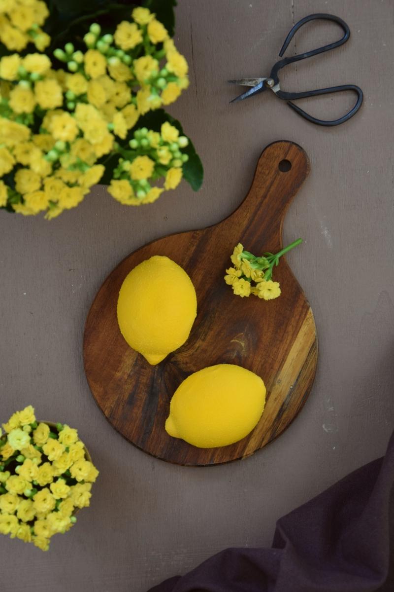 Entremets au citron & à la confiture de lait