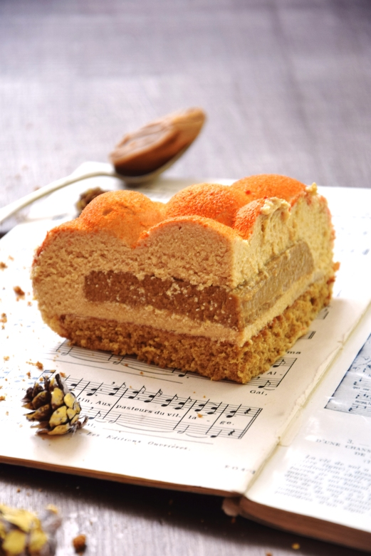 Entremets Cafe Speculoos Maman Patisse